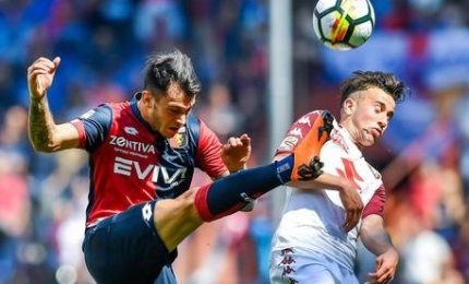 Calcio: Genoa-Torino 1-2, decidono l'ex Iago Falque e Baselli