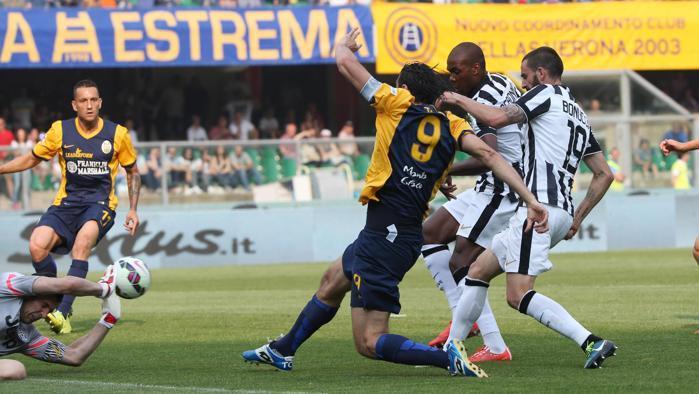 Calcio serie A, Juventus-Verona anticipata a sabato 19 maggio alle 15