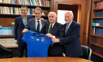 """Mancini: """"La mia Nazionale, l'Italia della rinascita"""""""
