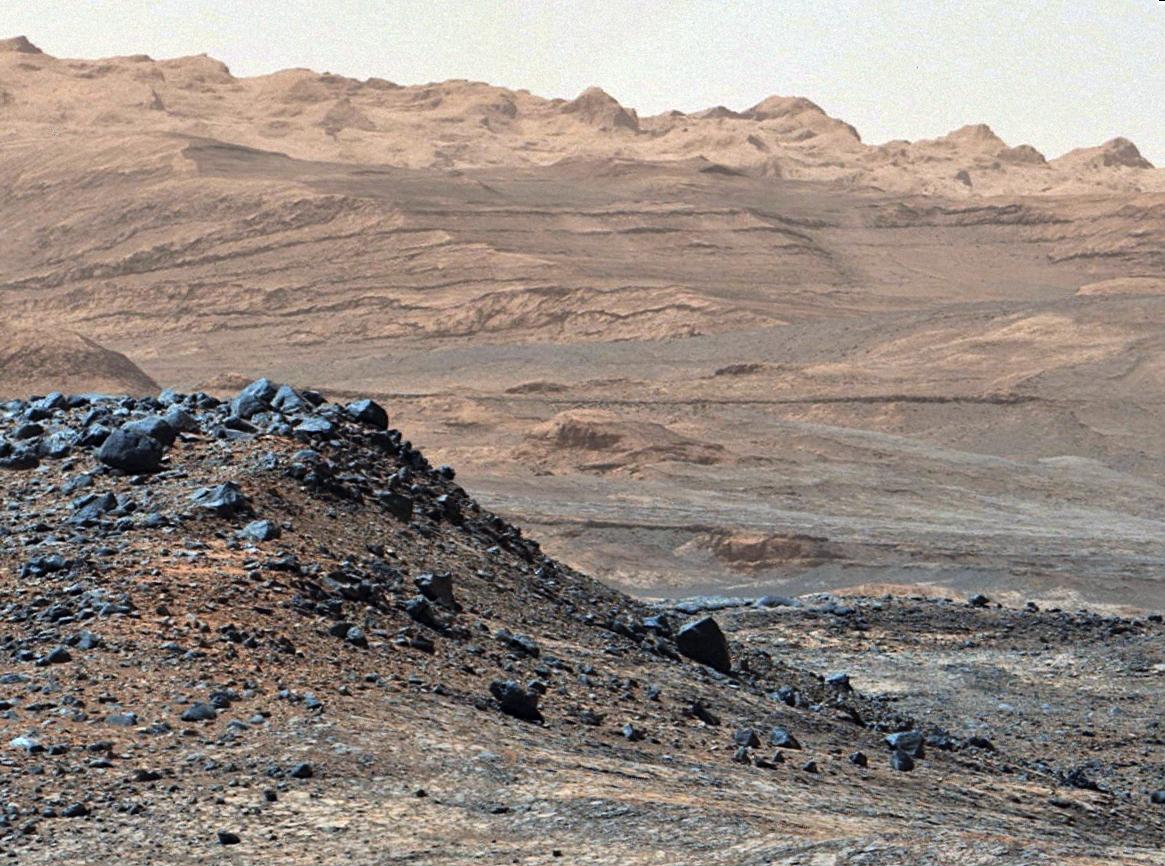 C'è la pioggia nel passato di Marte