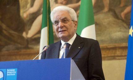 Mattarella a Firenze per Ue, monito contro ricette sovraniste