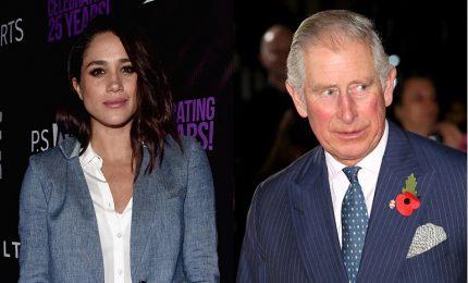 Principe Carlo accompagnerà Meghan all'altare. L'abito dell'ex attrice, si scommette su 4 stilisti