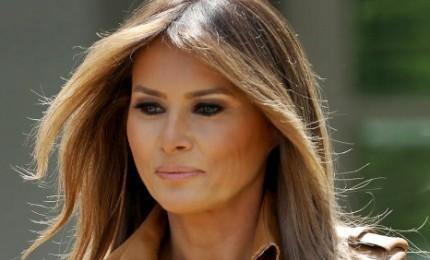 Melania torna alla Casa Bianca dopo intervento ai reni