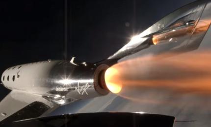 Nuovo test supersonico per la navetta di Virgin Galactic