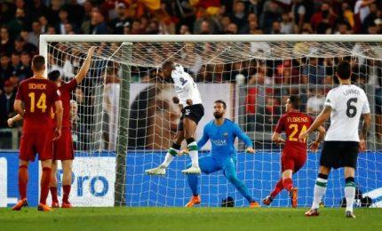 La Roma fuori dalla Champions, delusione di Florenzi e Di Francesco