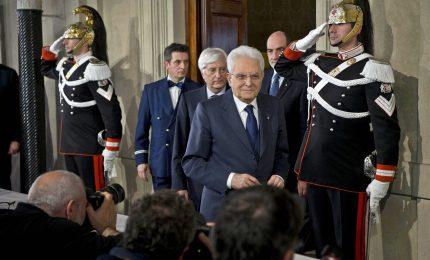Governo, Mattarella riceverà Conte alle 19