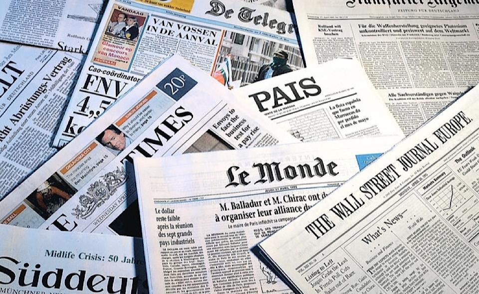 Le dimissioni di Conte sui principali siti del mondo
