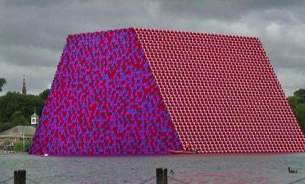 "A Londra svelata ""Mastaba"", la nuova opera gigante di Christo"