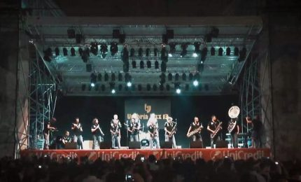 Auguri Funk off, la marching band festeggia 20 anni di carriera