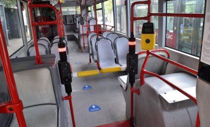 Ecco i tornelli anti evasione su autobus di Roma