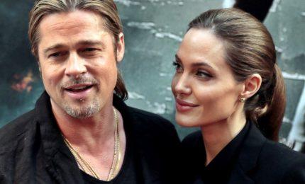 Brad Pitt e Agelina Jolie in vacanza insieme ai figli