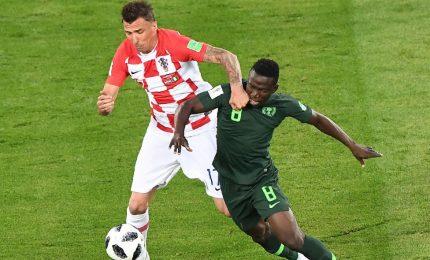 Croazia-Nigeria 2-0, Mandzukic manda i suoi in testa