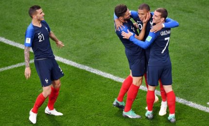 Francia-Perù 1-0, transalpini agli ottavi