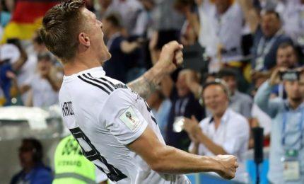 Germania-Svezia 2-1, tedeschi sorridono al 95'