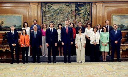 Spagna: giura il governo Sanchez, 11 donne ministre