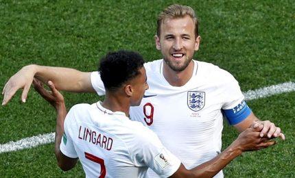 Inghilterra-Panama 6-1, agli ottavi con il Belgio