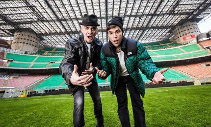 J-Ax e Fedez a San Siro per 'La finale', sotto choc per l'emozione