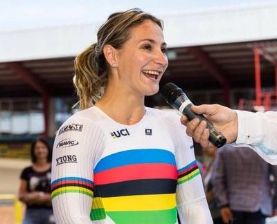 Grave Kristina Vogel, olimpionica pistard tedesca