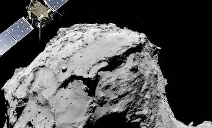 La cometa 67P vista da vicino, le immagini mozzafiato della sonda Rosetta
