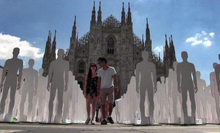 """""""Lavorare per vivere"""", Milano commemora vittime sul lavoro"""