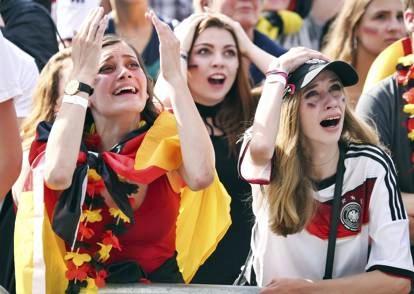 Le lacrime dei tedeschi: la Germania è fuori dal Mondiale