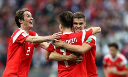 Russia parte col botto, 5-0 all'Arabia Saudita