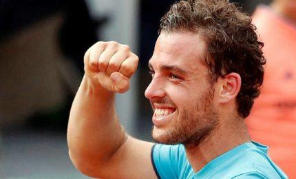 Risale Federer, Cecchinato il numero uno italiano