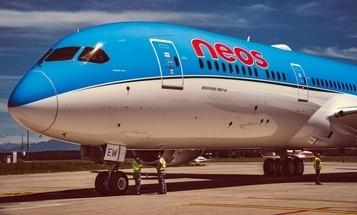 Neos presenta il suo secondo aereo 787 Dreamliner
