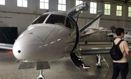 """Presentato il primo """"personal jet"""" Vision italiano, l'unico al mondo"""