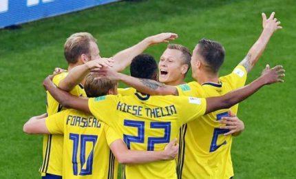 Svezia-Messico 3-0, entrambe qualificate agli ottavi