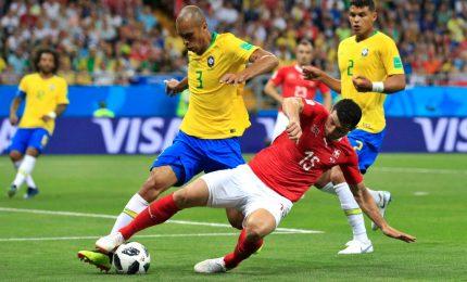 Delude anche il Brasile, 1-1 con la Svizzera