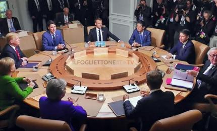 Al G7 i contrasti con Trump su Russia e tariffe doganali
