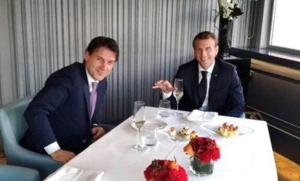 Il patto segreto di Conte-Macron nella cornice elegante di Casina Valadier
