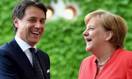 Conte da Merkel, la lotta alla povertà ha la priorità come migranti