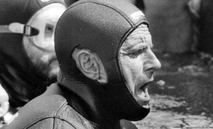 Ustica ricorda il record di apnea di Enzo Maiorca del 1962