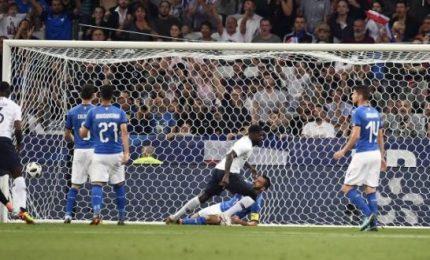 L'Italia di Mancini arranca e poi crolla con la Francia