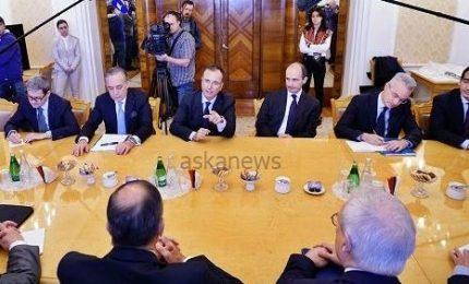 Frattini a Mosca introduce Conte a Lavrov: per lui Russia è amico