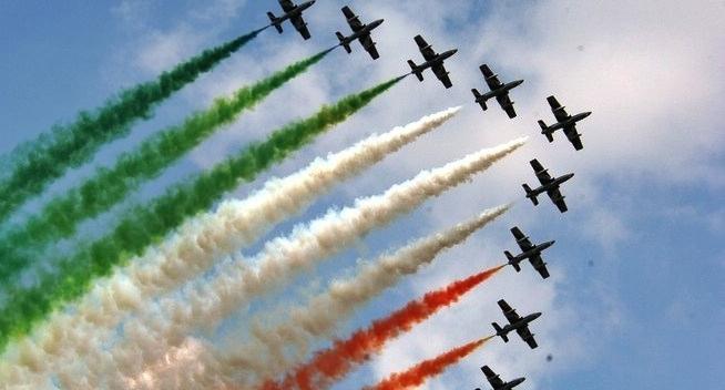 2 giugno, ci sarà il Giro d'Italia delle Frecce tricolori
