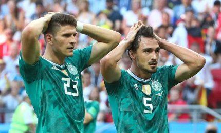 La Germania sconfitta 2-0 dalla Corea del Sud è fuori dai Mondiali