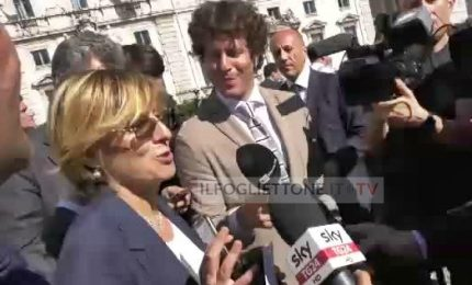 """Giulia Bongiorno: """"Mi sento come Atlante, subito al lavoro"""""""