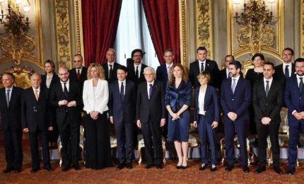 Governo Conte con 18 ministri, 5 le donne. Storie e curricula