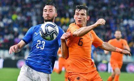 Italia-Olanda 1-1, a Zaza risponde nel finale Aké