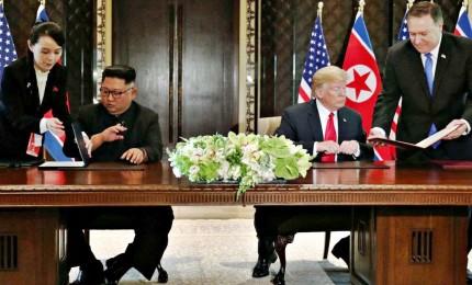 """Summit Trump-Kim un successo. Usa: """"Risultati migliori di quelli che ci aspettavamo"""""""