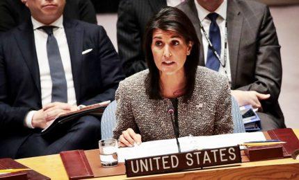 """Haley lascia l'Onu. L'ambasciatore Usa: """"Non miro alla Casa Bianca"""""""