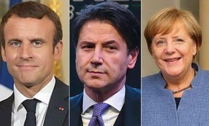Migranti, garanzie Merkel per Conte ma è tensione con Macron. Si lavora al pre-vertice
