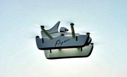 """La mini-auto volante monoposto """"Flyer"""" è pronta per il decollo"""