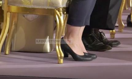 Una giornata particolare: le scarpe, i tacchi e le emozioni. Il giuramento al Quirinale