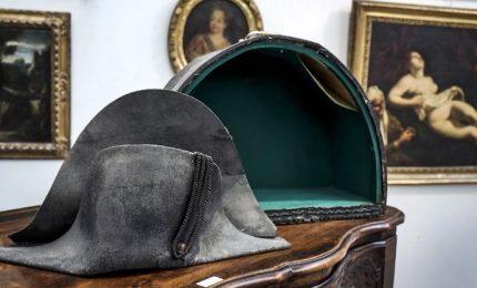 All'asta il cappello di Napoleone, fu raccolto a Waterloo nel 1815
