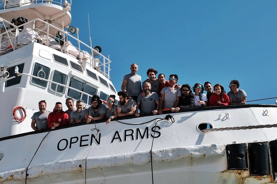 Porti di Messina e Taranto per Open Arms e Sea Watch