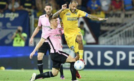 """Frosinone-Palermo 2-0, ciociari in A, furia Palermo: """"Ricorso"""""""